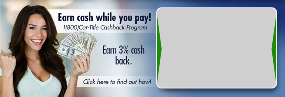 3% Cash back Program